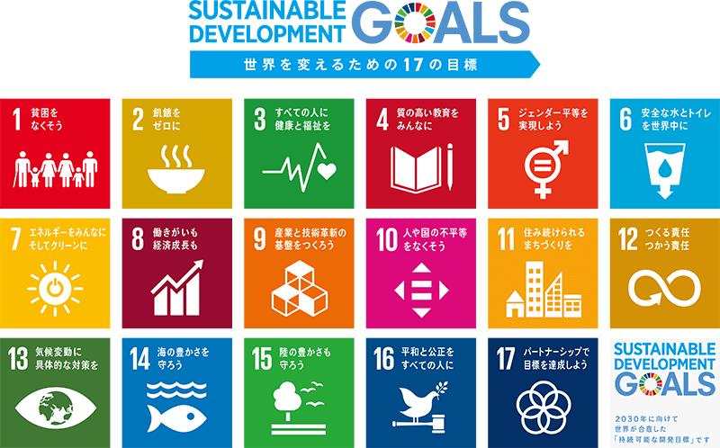 持続可能でよりよい世界を目指す