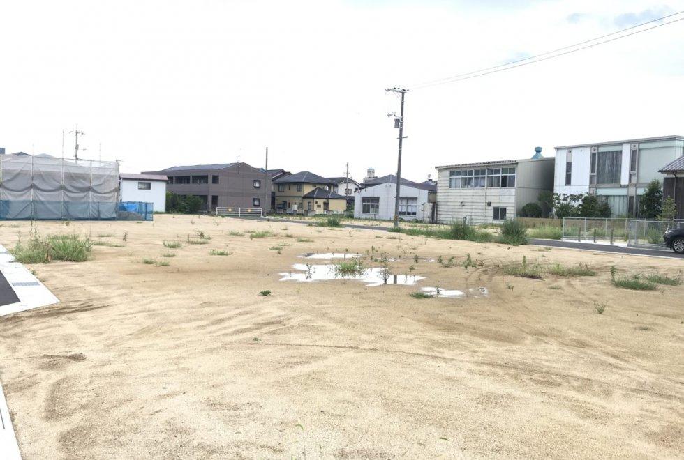 倉敷市玉島爪崎分譲地土地