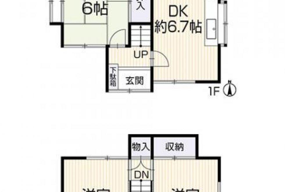 倉敷市福島中古住宅